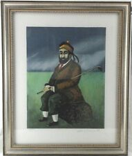 GUY BUFFET Signed Lithograph Scotch on the Rocks 100/500 Golf Framed Art Print