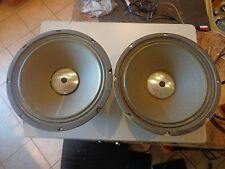 "Herald Muscle Magnet 12"" Speaker Pair/Eminence Chicago Illinoise Made in the USA"