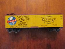 Schlitz beer collectible refrigerator transit train.wood boxcar co