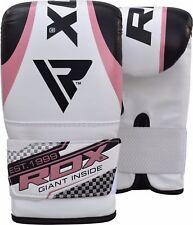 RDX Guantes de boxeo Mujer Puñetazo Gel Boxing Gloves Punch Muay Thai ES