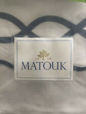 Matouk King Sheet Set Blue 4 Piece Set $1250