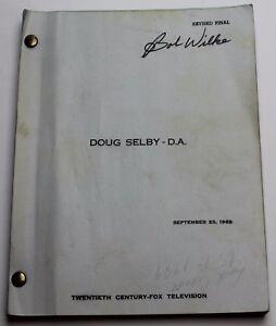 THEY CALL IT MURDER / Sam Rolfe 1969 Movie Script Screenplay, Walter Grauman