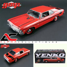 "GMP 18830 1:18 1970 CHEVROLET NOVA ""YENKO DEUCE"" CRANBERRY RED LIMITED ED 660PCS"