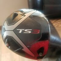 Titleist TS3 9.5* Driver Graphite Project X Hzrdus Smoke Black 6.0 60g Stiff