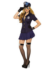 Sexy Police Womens Adult Law Enforcement Halloween Costume Shirt-Std