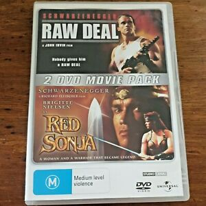 Raw Deal/ Red Sonja DVD R4 – FREE POST