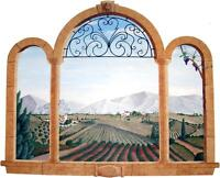 Tuscan 3D Ancient Window View Decal WALL STICKER Home Decor Art Scenery Mural