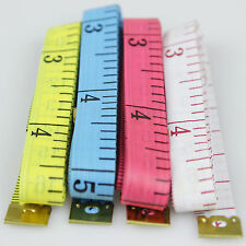 GUT 4tlg Maßband 150cm Schneidermaßband Bandmaß Messband 1,5 m Nähen Messung