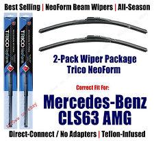2pk Super-Premium NeoForm Wipers fit 2012-2014 Mercedes-Benz CLS63- 162412x2