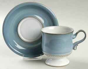 Denby Langley Castile Coffee Cup and Saucer