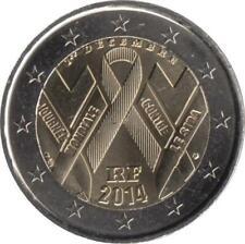 """Frankreich 2 Euro 2014 """"Welt-AIDS-Tag"""""""