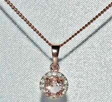 949e56b01e25d Morganite Rose Gold Fine Necklaces & Pendants for sale | eBay
