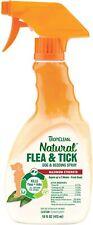 TropiClean Natural Flea & Tick for Dog & Bedding Spray Made in Usa 16oz Maximum