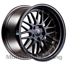 18X9 5X108 JNC 005 MATTE BLACK MADE FOR FORD VOLVO