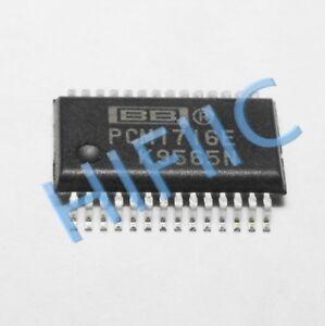 1PCS PCM1716E 24-Bit, 96kHz Sampling CMOS Delta-Sigma Stereo Audio DAC SSOP28
