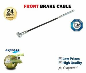 FOR NISSAN MICRA K12 2002-2010 NEW FRONT BRAKE CABLE EO QUALITY