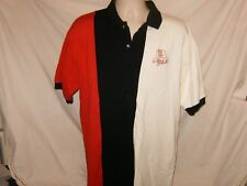 Dale Earnhardt #3 RED WHITE AND BLUE Mens L XL Polo Shirt Nascar New