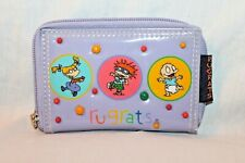 New With Tags 1998 Viacom Rugrats Purple Coin Wallet