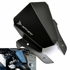 Aluminum Windshield WindScreen Upper Mount For Yamaha MT07 FZ07 2013-2017 BK