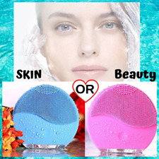 Extraordinary VIBRATING CLEASING BRUSH silicone-Epidermis face care SKIN beauty