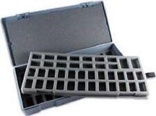 Chessex Large Figure Storage Box 25mm Humanoid Miniatures 80 Figures CHX 02850
