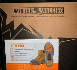 Winter Walking Spare Spike Ice Cleats Size XL Over Shoe