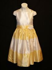 Sz 10 Miss Hollywood Girls Dress Holiday Party Wedding Bride Flower Easter