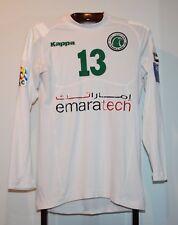 KAPPA IBRAHIM ABULLAH 2013 AL SHABAB AL ARABI MATCH WORN FOOTBALL SHIRT JERSEY