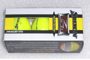 3  NEW Golf Balls Srixon Soft Feel ZSTAR, QSTAR,ONE