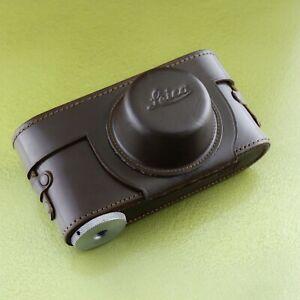 EXC* Case II III LEICA camera Leitz Brown Leather borsa tasche etui IIIA F ☆☆☆☆