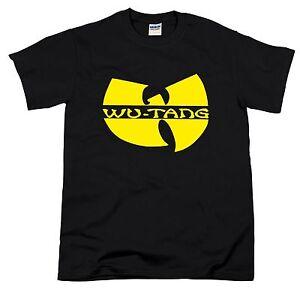 Wu Tang Clan Rap Hip Hop RZA GZA Method Man Raekwon Tour Ghostface Killah Tshirt
