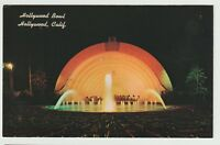 Undated Unused Postcard Hollywood Bowl Hollywood California CA