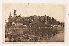 Ak, Krakow, Wawel od strony Wisly 1928, (G)19432