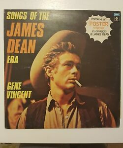 GENE VINCENT-SONGS OF JAMES DEAN ERA-LP VINILE VYNIL 33 GIRI-