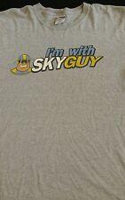 Mens Large WNBA Chicago Sky Shirt