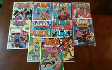 Arak Son Of Thunder DC Comic Books 1-38 Early Run 11 Issue Lot
