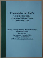 Commander in Chief's Commendations AMF WW2. by Neil C Smith. Signed copy
