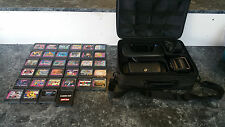 Sega Game Gear w/ Carrying Case, Accessories and 32 Games ***PLEASE READ***