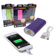4400 mAh succo Banca Di Potere Telefono caricabatteria di emergenza SMART iPhone iPad Nuovo