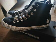 Converse Chuck Taylor All Star CTAS OX High Unisex Schnürschuhe Sneaker Schwarz