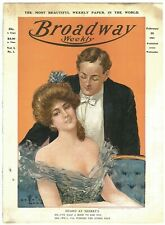 Rare Antique Feb. 1903, Vol. 1 #1 Broadway Weekly Magazine Theatre Premier Issue
