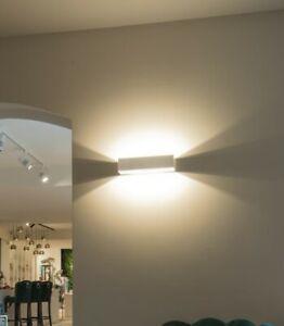 Up&Down LOGS Aluminium LED Wandleuchte mit Dim-to-Warm Funktion SLV eckig