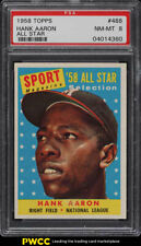1958 Topps Hank Aaron ALL-STAR #488 PSA 8 NM-MT (PWCC)