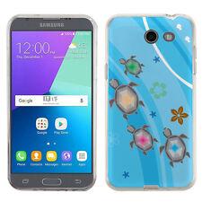 TPU Phone Case for Samsung Galaxy J3 Prime / Amp Prime 2 - Happy Turtle