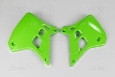 Kawasaki KX250 1990-1991 Radiator Scoops Green 2729 026 EVO