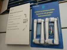 4 Aufsteckbürsten Ersatzbürsten kompatibel zu Braun Oral B