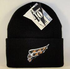 Washington Capitals NHL Vintage Cuffed Knit Hat Black