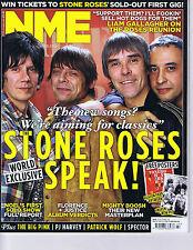 STONE ROSES / BIG PINK / PJ HARVEYNME 29October2011