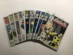 Punisher 2-6 9-10 Plus More Lot Run Set Near Mint Nm Marvel