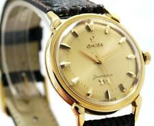 """Vintage Omega Sea-Master """"OLYMPIC 1956"""" 18KY Solid Gold Automatic Men's Watch"""